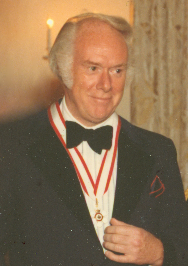 Berton with Order of Canada