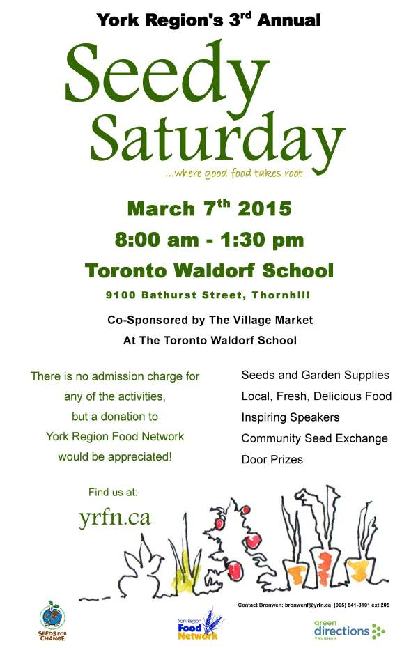 Seedy Saturday Poster 2015