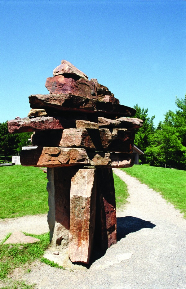 McMichael Canadian Art Collection Statue