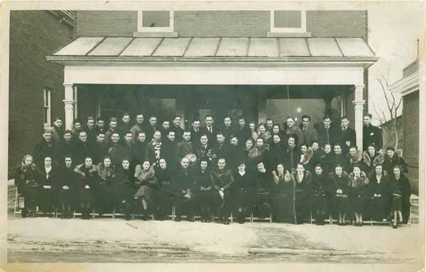 Vaughan Township Junior Farmers, January 1938