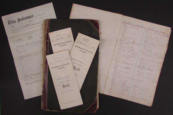 Nashville Cemetery Company fonds (M987.5)