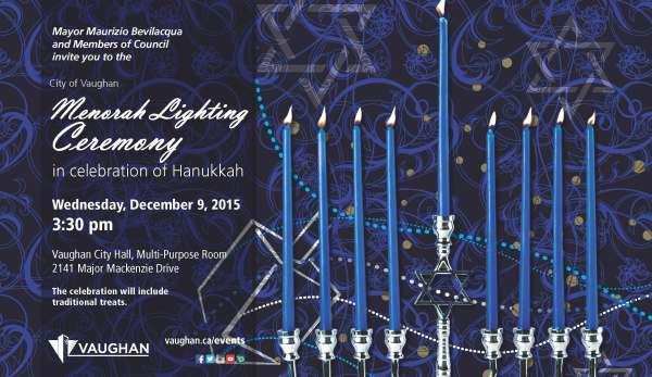 Menorah Lighting Poster 2015-11x17