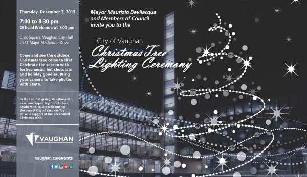 Tree Lighting poster 2015